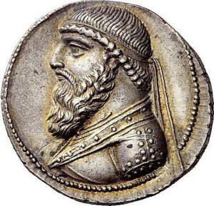 سکهای با نقش مهرداد دوم